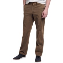 Bills Khakis Standard Issue M3 Trim Fit Twill Pants (For Men) in Brown - Closeouts