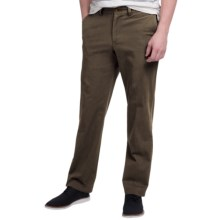 Bills Khakis Standard Issue M3 Trim Fit Twill Pants (For Men) in Dark Brown - Closeouts