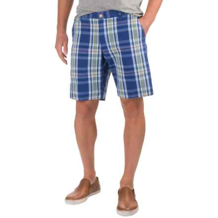 Bills Khakis Standard Issue Parker Plaid Shorts (For Men) in Dark Blue - Closeouts