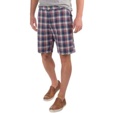 Bills Khakis Standard Issue Parker Plaid Shorts (For Men) in Midnight - Closeouts