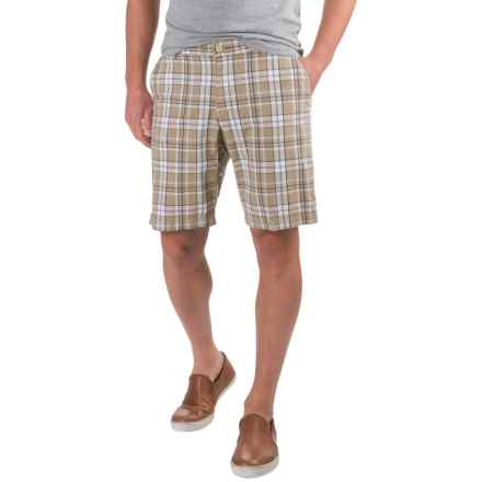 Bills Khakis Standard Issue Parker Plaid Shorts (For Men) in Tan - Closeouts