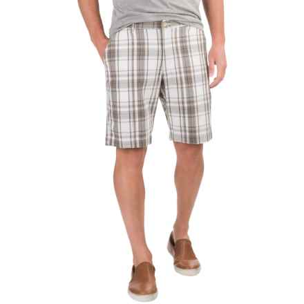 Bills Khakis Standard Issue Parker Plaid Shorts (For Men) in White - Closeouts
