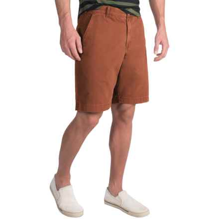 Bills Khakis Standard Issue Parker Shorts (For Men) in Rust - Closeouts