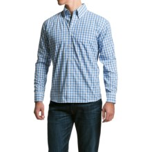 Bills Khakis Standard Issue Plaid Shirt - Long Sleeve (For Men) in Blue - Closeouts
