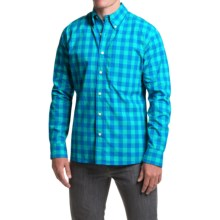 Bills Khakis Standard Issue Plaid Shirt - Long Sleeve (For Men) in Green - Closeouts