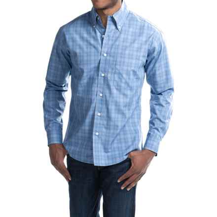 Bills Khakis Standard Issue Plaid Shirt - Long Sleeve (For Men) in Light Blue - Closeouts