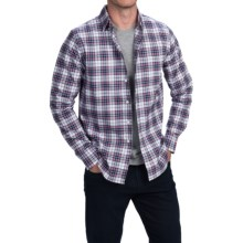 Bills Khakis Standard Issue Plaid Shirt - Long Sleeve (For Men) in Navy/Red - Closeouts