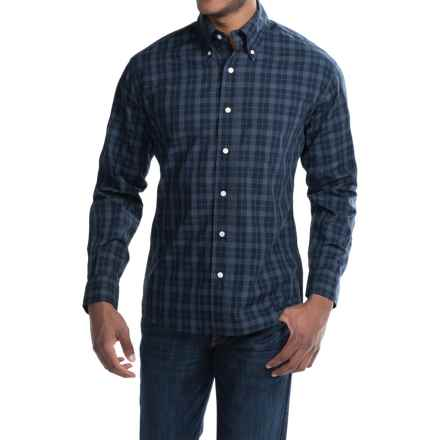 Bills Khakis Standard Issue Plaid Shirt - Long Sleeve (For Men) in Navy - Closeouts