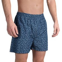 Bills Khakis Standard Issue Printed Boxers (For Men) in Dark Blue - Closeouts