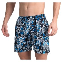 Bills Khakis Standard Issue Printed Boxers (For Men) in Midnight - Closeouts