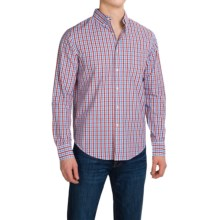 Bills Khakis Standard Issue Shirt - Classic Fit, Long Sleeve (For Men) in Red/Blue - Closeouts