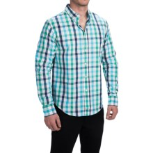 Bills Khakis Standard Issue Shirt - Classic Fit, Long Sleeve (For Men) in Turquoise/Green - Closeouts