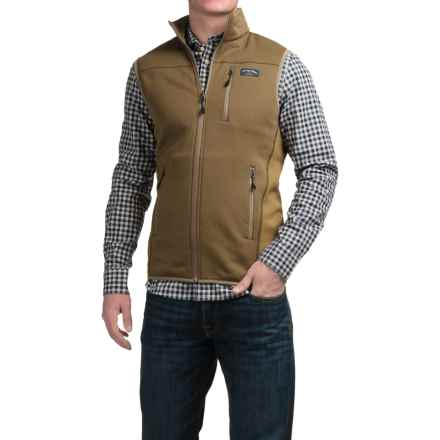 Bills Khakis Standard Issue Soft Shell Vest (For Men) in Dark Khaki - Closeouts