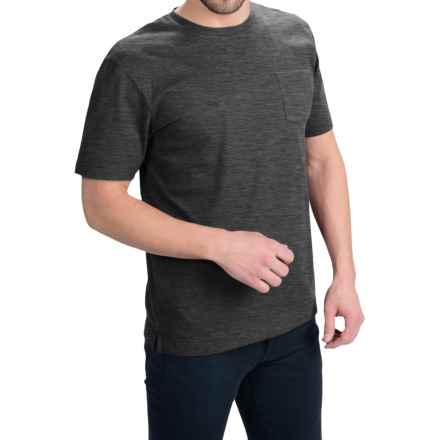Bills Khakis Standard Issue Solid T-Shirt - Short Sleeve (For Men) in Heather Charcoal - Closeouts