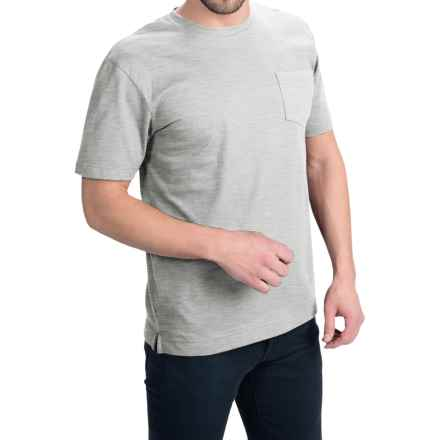 Bills Khakis Standard Issue Solid T-Shirt - Short Sleeve (For Men) in Heather Grey - Closeouts