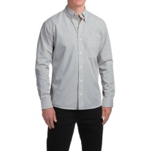 Bills Khakis Standard Issue Striped Shirt - Long Sleeve (For Men) in Black - Closeouts