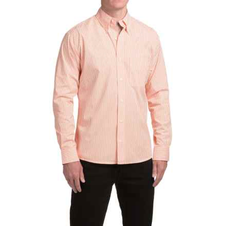 Bills Khakis Standard Issue Striped Shirt - Long Sleeve (For Men) in Orange - Closeouts