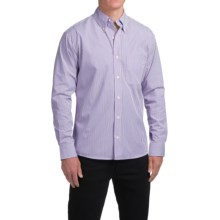 Bills Khakis Standard Issue Striped Shirt - Long Sleeve (For Men) in Purple - Closeouts