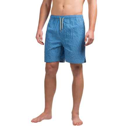 Bills Khakis Standard Issue Swim Trunks - Drawstring Waist (For Men) in Blue - Closeouts