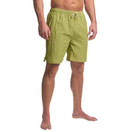 Bills Khakis Standard Issue Swim Trunks - Drawstring Waist (For Men) in Lime - Closeouts