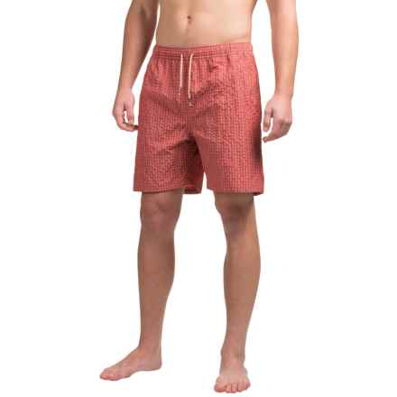 Bills Khakis Standard Issue Swim Trunks - Drawstring Waist (For Men) in Red - Closeouts