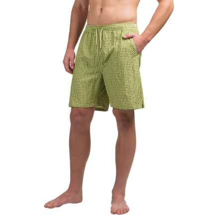 Bills Khakis Standard Issue Swim Trunks (For Men) in Lime - Closeouts