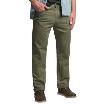 Bills Khakis Standard Issue Twill Pants (For Men) in Olive - Closeouts