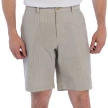 Bills Khakis Striped Seersucker Shorts (For Men) in Khaki - Closeouts