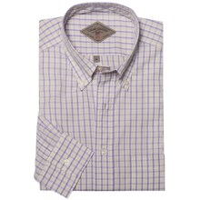 Bills Khakis Summer Check Shirt - Long Sleeve (For Men) in Plum - Closeouts