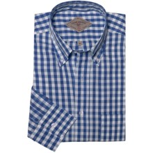 Bills Khakis Summer Gingham Shirt - Long Sleeve (For Men) in Blueberry - Closeouts