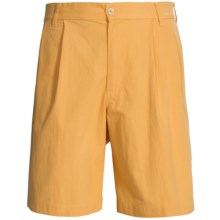 Bills Khakis Surf Cloth Shorts - Pleated (For Men) in Amber - Overstock