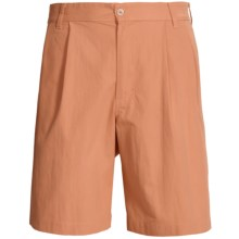 Bills Khakis Surf Cloth Shorts - Pleated (For Men) in Melon - Overstock