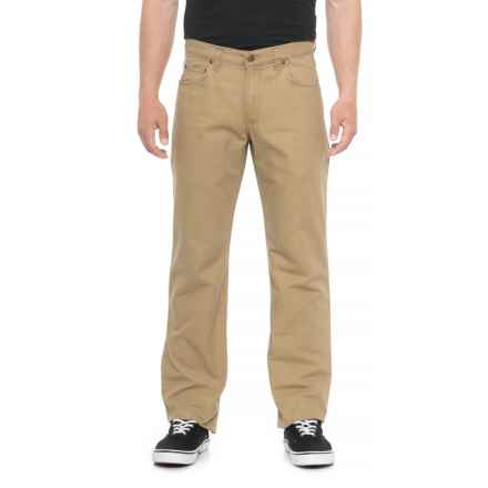 Bills Khakis Weathered Canvas Pants (For Men) in British Khaki - Overstock