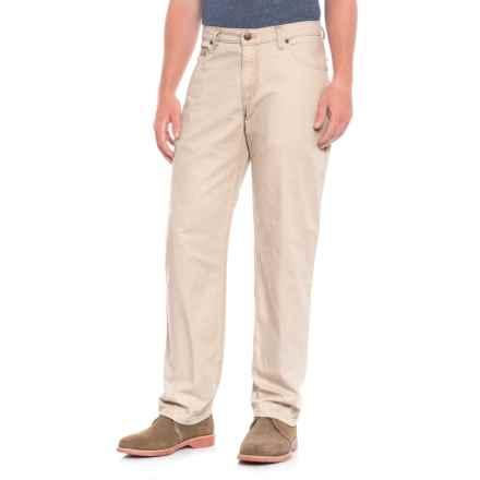 Bills Khakis Weathered Canvas Pants (For Men) in Sand - Overstock