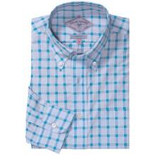 Bills Khakis Wembley Checks Shirt - Long Sleeve (For Men) in Lagoon - Closeouts
