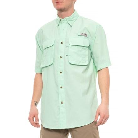 397bc05f Bimini Bay Flats III Fishing Shirt - UPF 35, Short Sleeve (For Men)