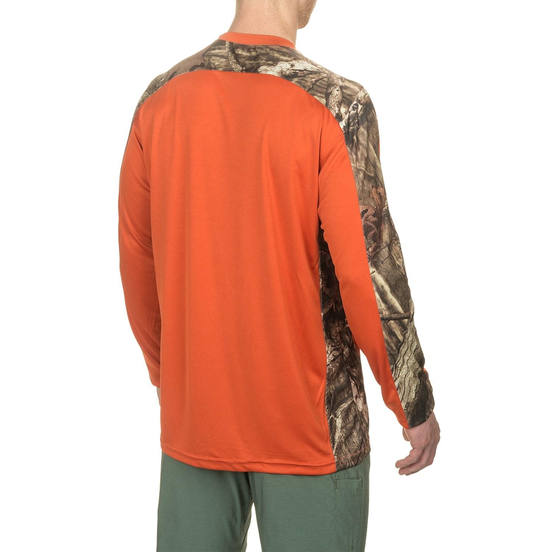 Bimini bay pieced camo t shirt for men save 65 for Men s upf long sleeve shirt