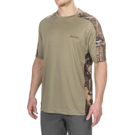 Bimini Bay Pieced Camo T-Shirt - UPF 30, Short Sleeve (For Men)