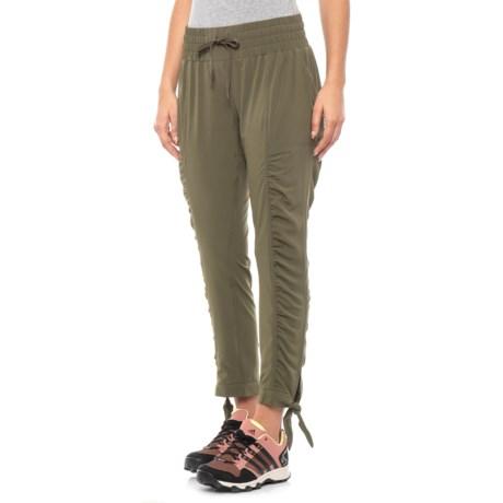 Image of Bindu Stretch Woven Pants (For Women)