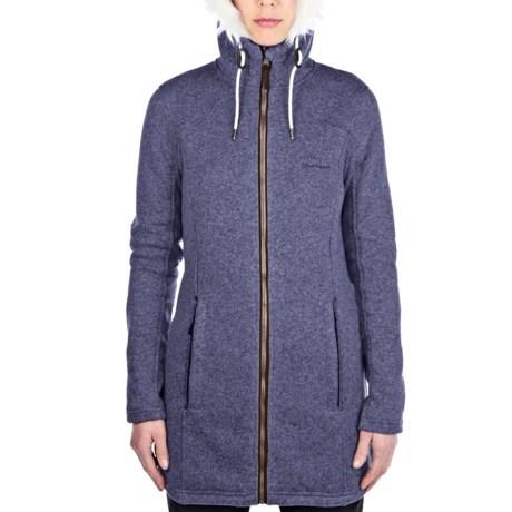 Bingley Hooded Fleece Jacket (For Women)