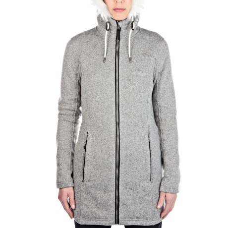 Image of Bingley Hooded Fleece Jacket (For Women)
