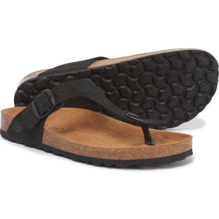 1157365c9250 BIO BIO Made in Spain Footbed Flip-Flops - Leather (For Women) in