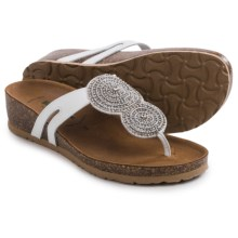 BioNatura Carina Sandals - Leather (For Women) in White - Closeouts