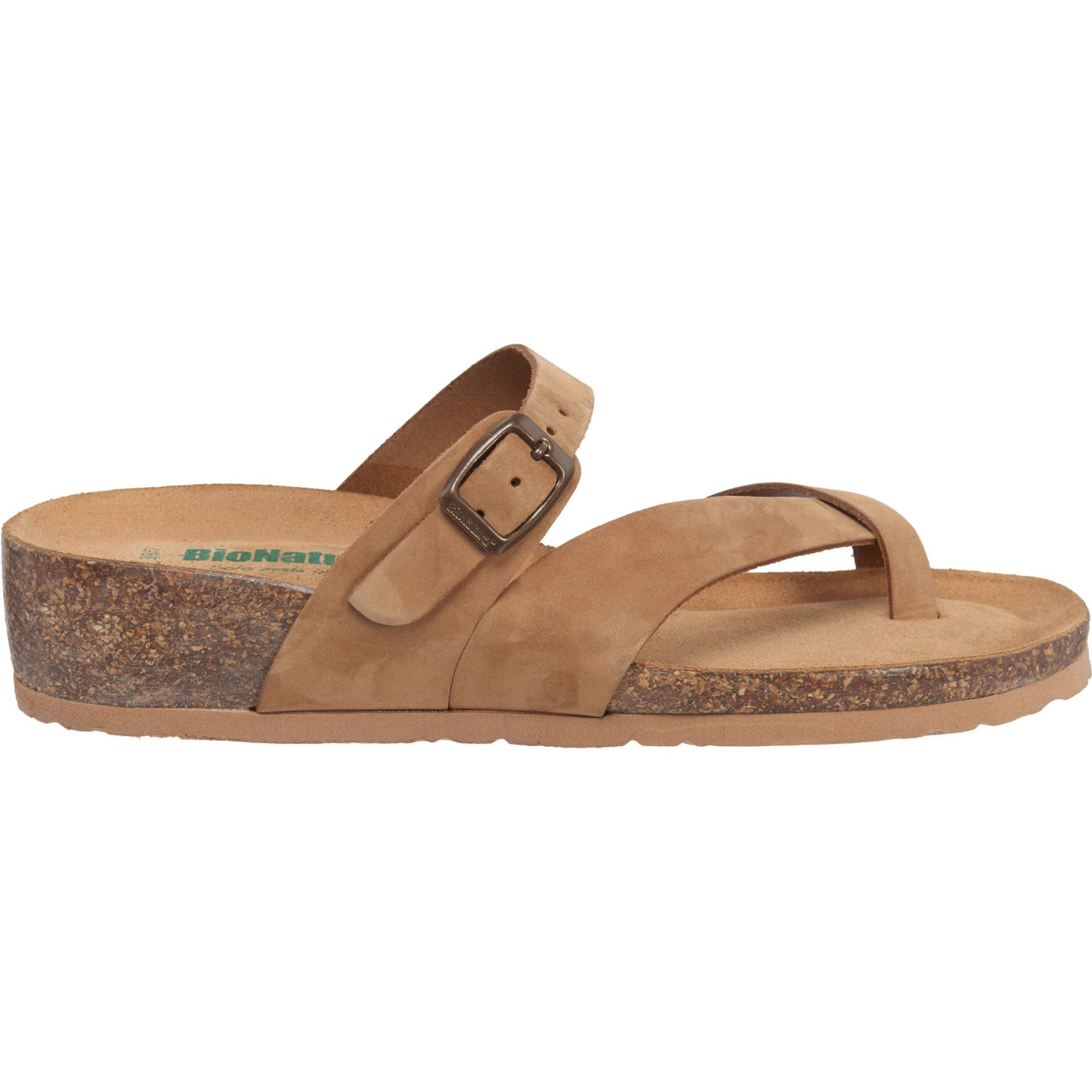 2dbb0e9b798f BioNatura Made in Italy Toe Flip-Flops (For Women) - Save 41%