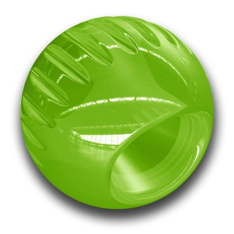 Bionic Ball Dog Toy - Large in Green