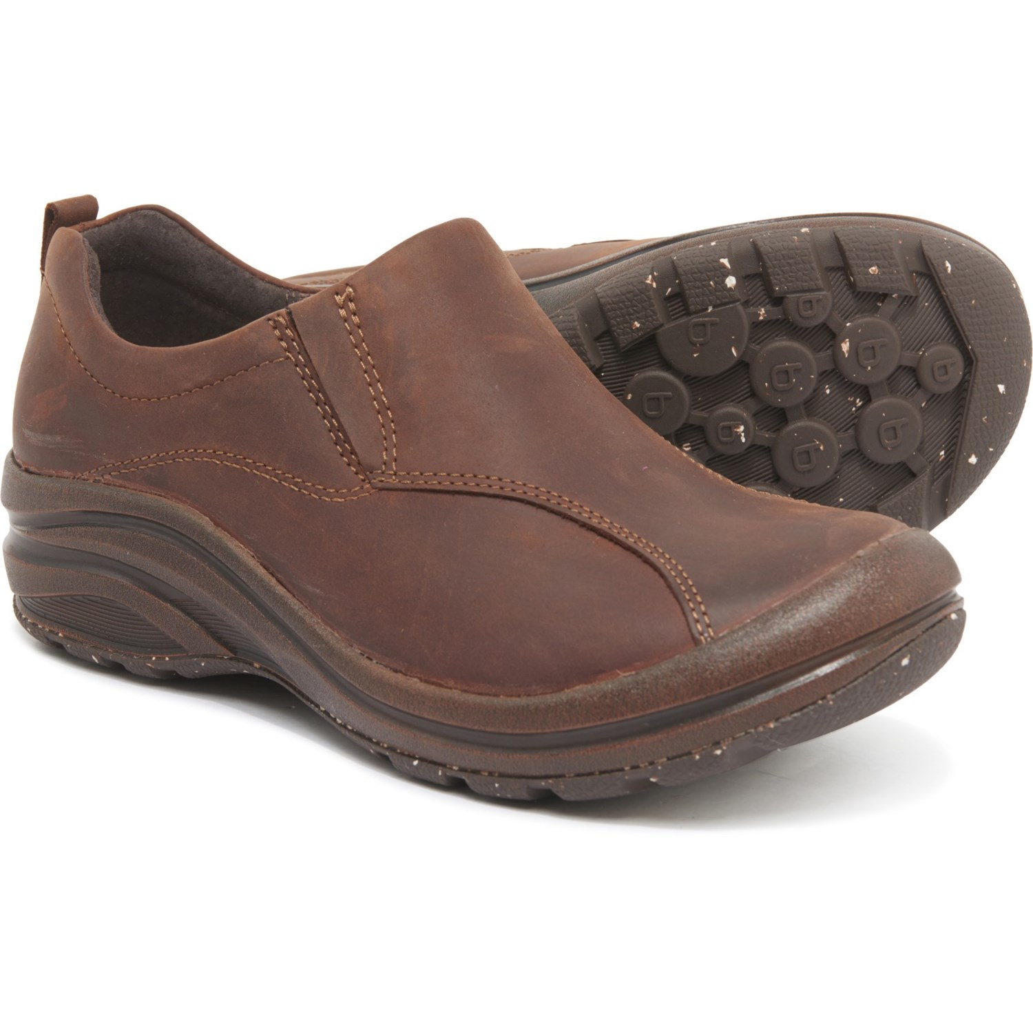 Bionica Brown Maplewood Leather Shoes
