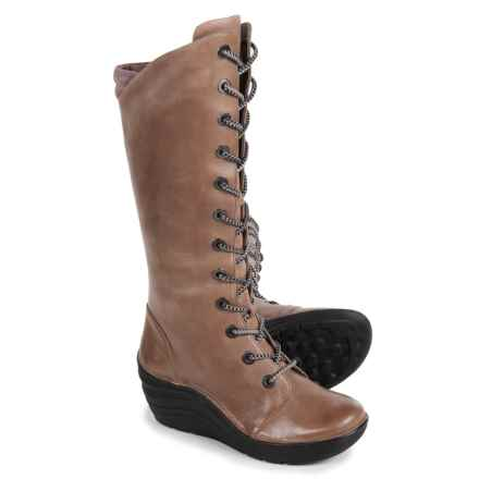 Bionica Culture Boots - Leather (For Women) in Grey - Closeouts