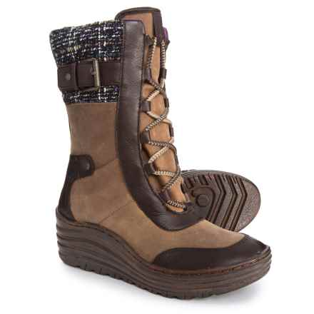 Bionica Garland Winter Boots - Waterproof, Insulated (For Women) in Mahogany - Closeouts