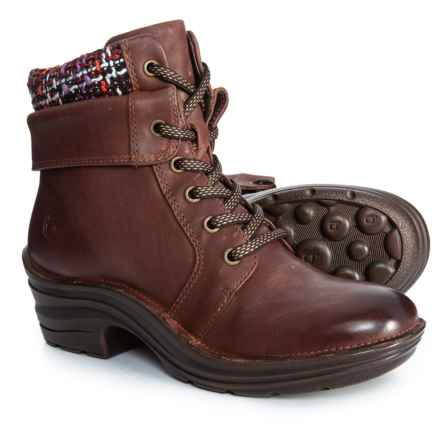 Bionica Romulus Boots - Leather (For Women) in Red - Closeouts