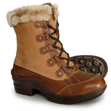 Bionica Rosemount Snow Boots - Waterproof (For Women) in Honey Whiskey - Closeouts